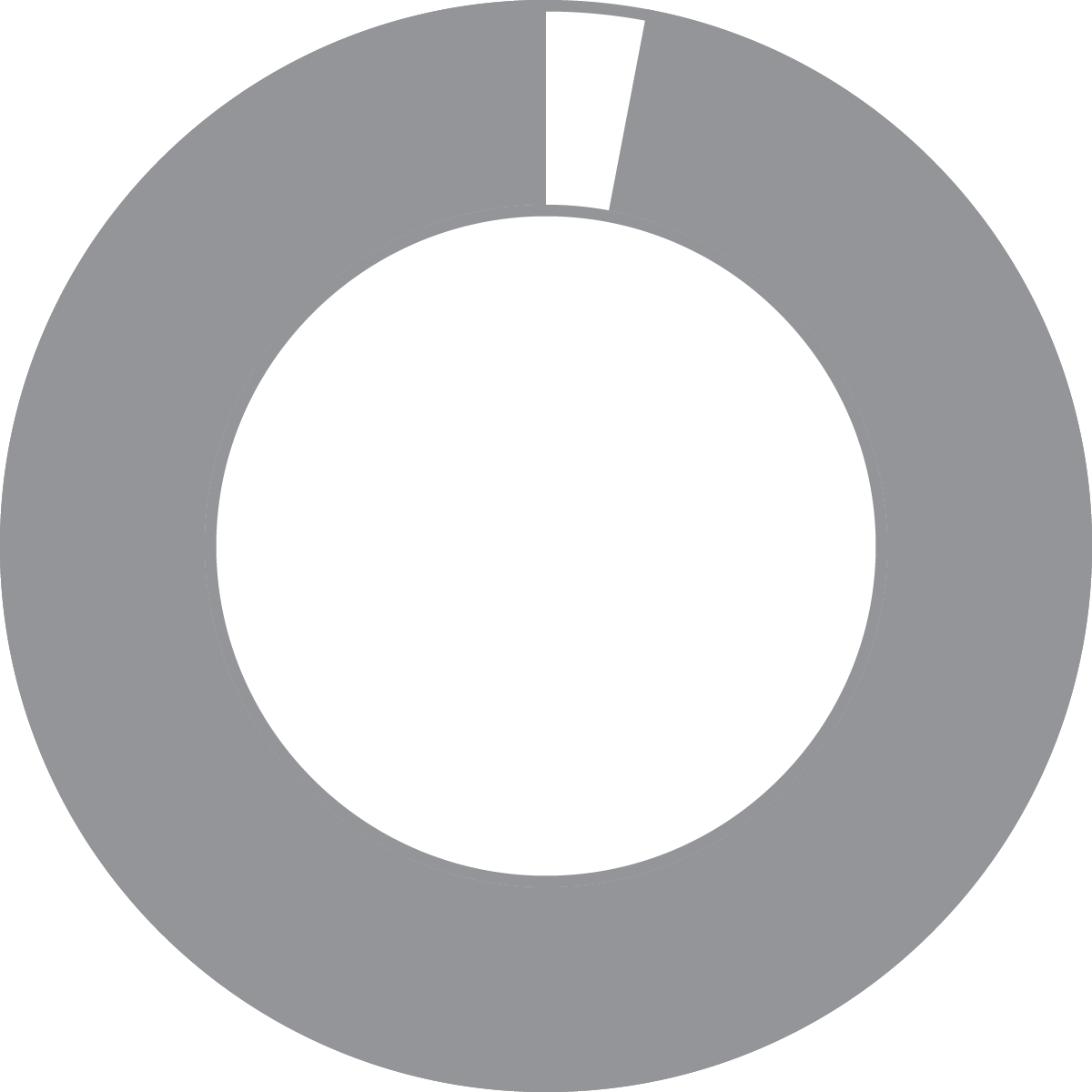 Donut Chart 97%