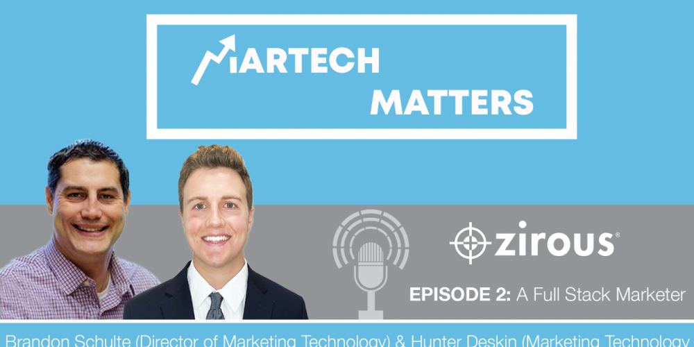 Martech Matters Cover With Brandon And Hunter