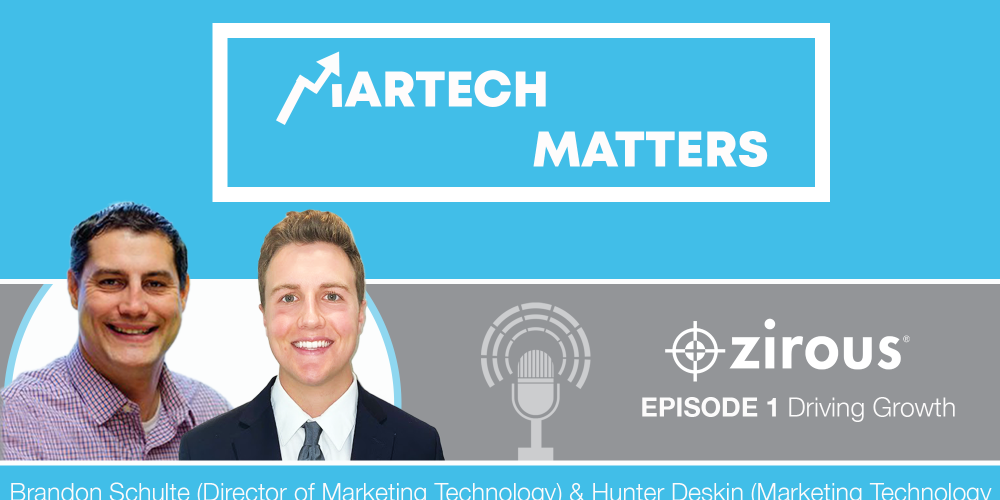 Martech Matters Cover With Brandon And Hunter Pictured