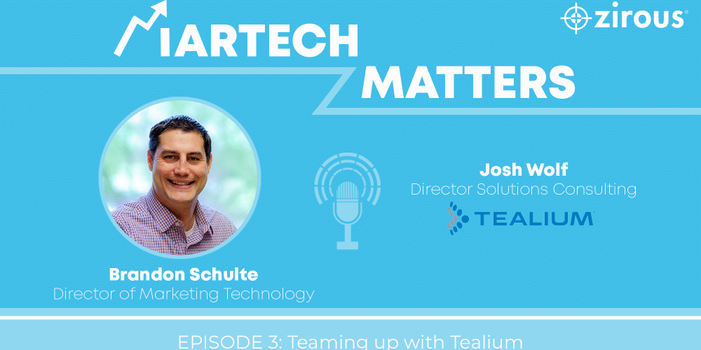 Martech Matters Podcast Cover