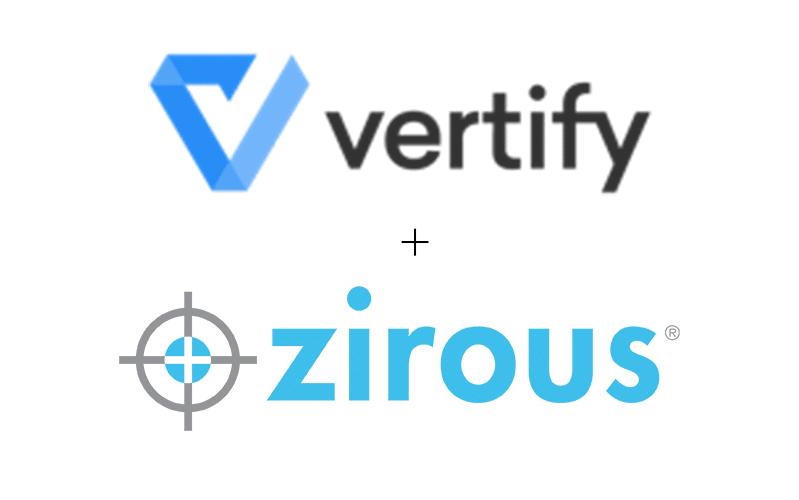 Zirous + Vertify
