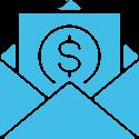 email money icon